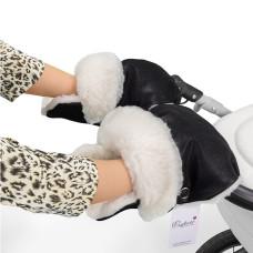 Муфта - рукавички для коляски Esspero Gretta (100% овечья шерсть)