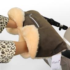 Муфта для рук на коляску ESSPERO Isabella (100% овечья шерсть)