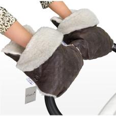 Муфта - рукавички для коляски Esspero Karolina (100% овечья шерсть)