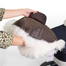 Муфта для рук на коляску ESSPERO Magda (Натуральный мех)