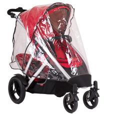 Комплект дождевик на основное сидение + задняя шторка для колясок Vibe/Verve