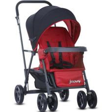Прогулочная коляска для двойни или погодок JOOVY Caboose Graphite