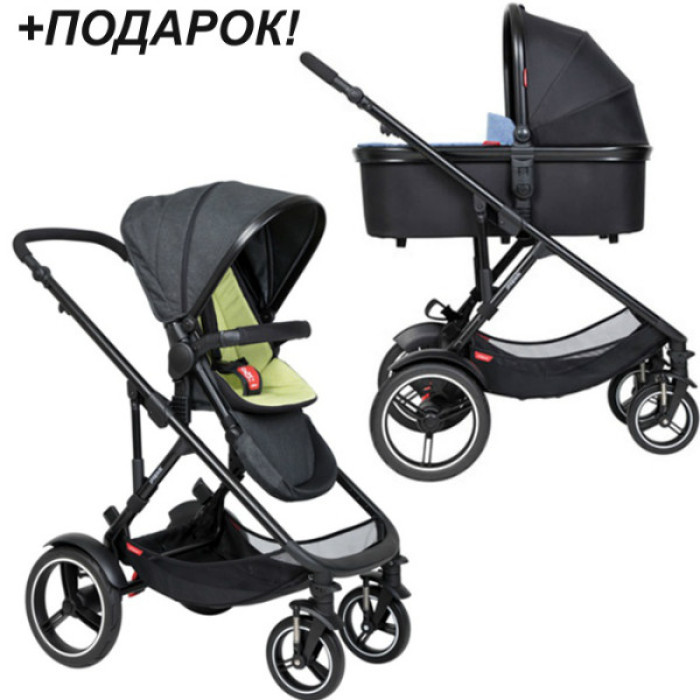 Коляска 2 в 1 PHIL AND TEDS Voyager