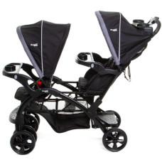 Прогулочная коляска для двойни Ramili Baby Twin ST