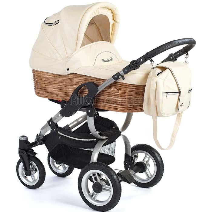 Коляска для новорожденного REINDEER City Eco-Leather