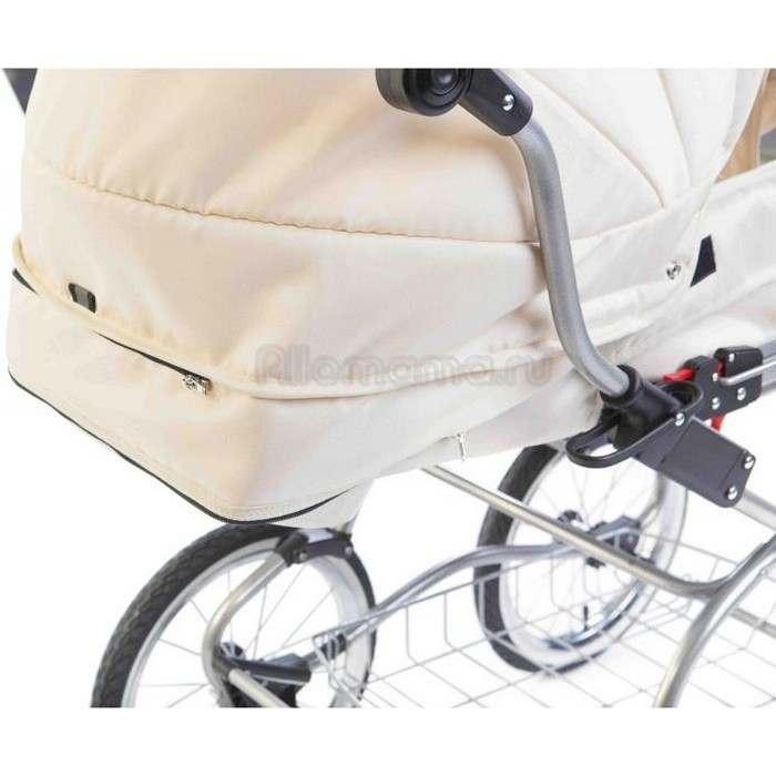 Коляска для новорожденного REINDEER Wiklina Eco-Leather