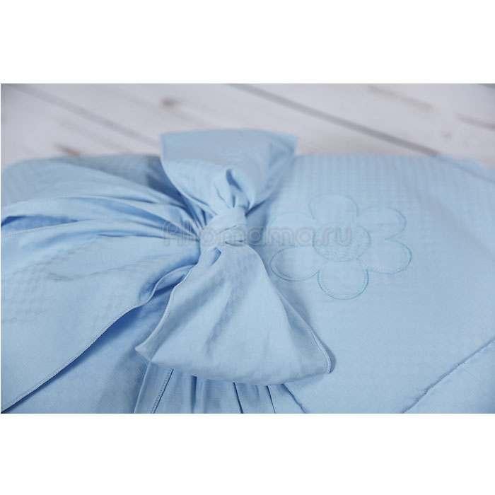 Конверт - одеяло на выписку МОЙ АНГЕЛОК Ромашки