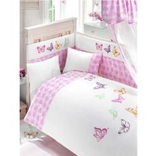 Комплект постельного белья Bebe Luvicci Little Wings (6 предметов)