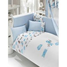 Комплект постельного белья Bebe Luvicci Puffy Pilot (6 предметов)