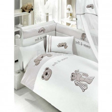 Комплект постельного белья Bebe Luvicci Teddy Boo (3 предмета)