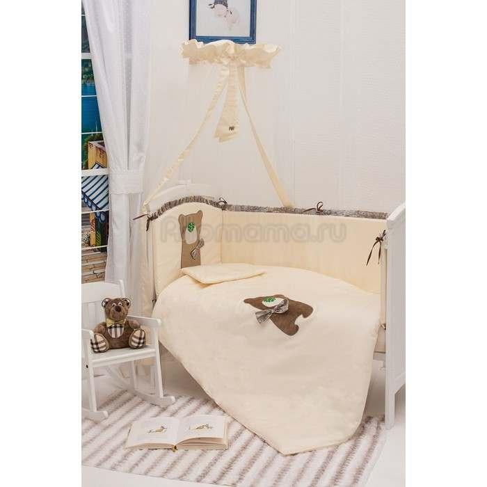 Постельное белье MAKKARONI KIDS Toy Teddy 120х60 (6 предметов)