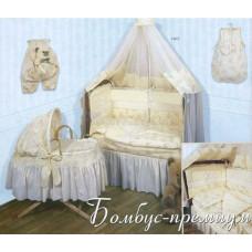 Комплект в кроватку Бомбус Бомбус-премиум 8 предметов
