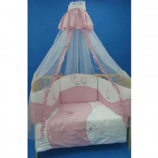 Комплект в кроватку Бомбус Морской 7 предметов