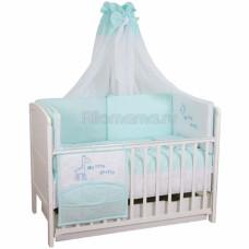 Комплект в кроватку FAIRY Жирафик 140х70 (7 предметов)