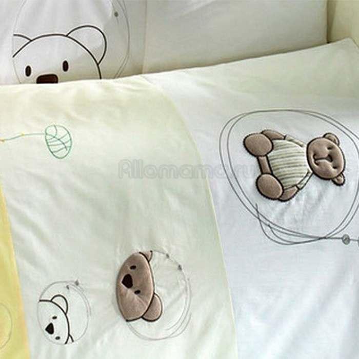Комплект постельного белья Kidboo Little Bear (4 предмета)