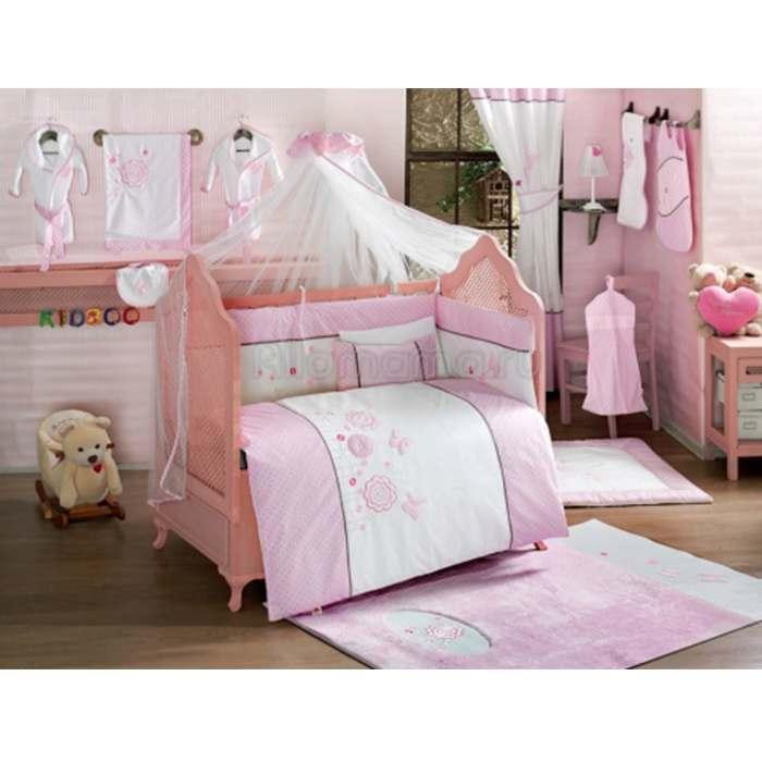 Комплект постельного белья Kidboo Sweet Flowers (6 предметов)