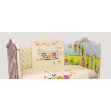 Комплект в кроватку LABEILLEBABY Family 7 предметов