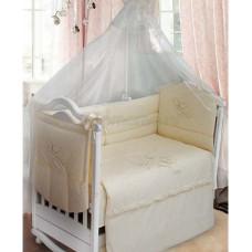Комплект в кроватку LABEILLEBABY Farfalla 7 предметов