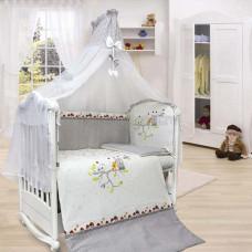Комплект в кроватку LABEILLEBABY Felicita 7 предметов