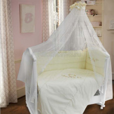Комплект в кроватку LABEILLEBABY Франсуаза 7 предметов