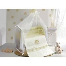 Комплект в кроватку LABEILLEBABY Инфанта 7 предметов