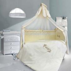 Комплект в кроватку LABEILLEBABY Изабэль 7 предметов