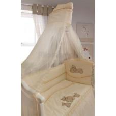 Комплект в кроватку LABEILLEBABY Медвежата 7 предметов