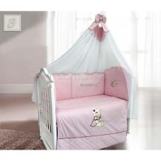 Комплект в кроватку LABEILLEBABY Мишка фаворитка 6 предметов