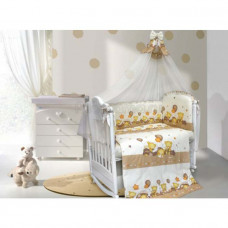 Комплект в кроватку LABEILLEBABY Мишутки 7 предметов