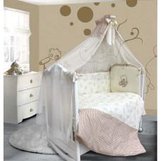 Комплект в кроватку LABEILLEBABY Очарование 7 предметов