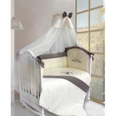 Комплект в кроватку LABEILLEBABY Шотландцы 7 предметов