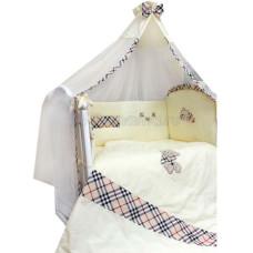 Комплект в кроватку LABEILLEBABY Сливочные сны 7 предметов