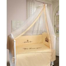 Комплект в кроватку LABEILLEBABY Сонное царство 7 предметов