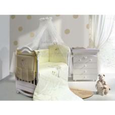 Комплект в кроватку LABEILLEBABY Совушки 6 предметов