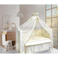 Комплект в кроватку LABEILLEBABY Тедди Бир 8 предметов