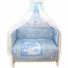 Комплект в кроватку LABEILLEBABY Топтышка 7 предметов