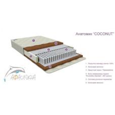 Детский матрас Афалина Анатомик COCONUT 120х60 см (кокос,латекс/высота 12см)
