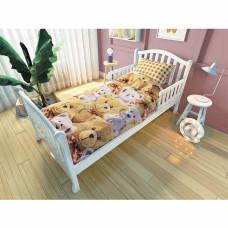 Комплект для подростковой кровати NUOVITA Мишки