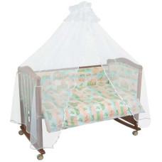 Комплект в кроватку Тайна снов Топтыжки (7 предметов)