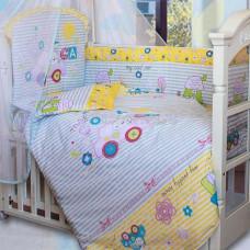 Комплект в кроватку Золотой гусь Cool Car  7 предметов
