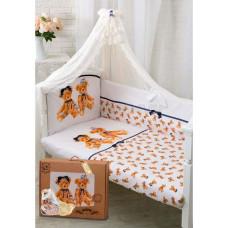 Комплект в кроватку Золотой гусь Королевские мишки