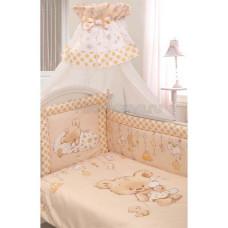 Комплект в кроватку Золотой гусь Mika сатин 7 предметов