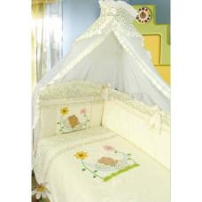 Комплект в кроватку Золотой гусь Сладкий сон 7 предметов