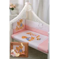 Комплект в кроватку Золотой гусь Sweety Bear 7 предметов