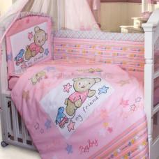 Комплект в кроватку Золотой гусь Zoo Bear 7 предметов 140х70 см