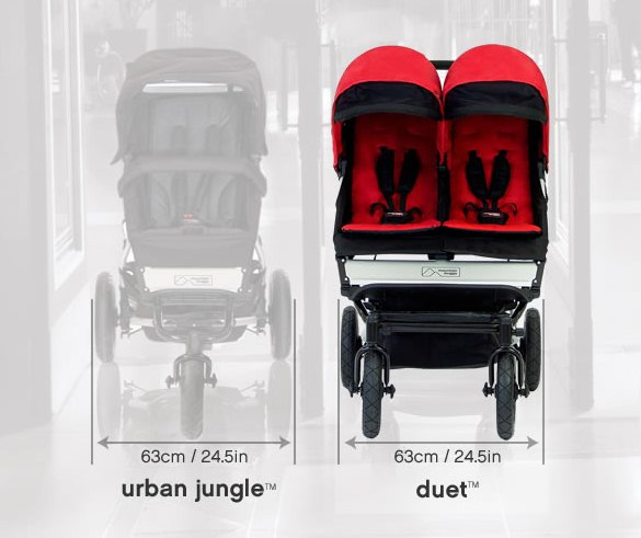 MOUNTAIN BUGGY Duet Коляска для двойни 2 в 1